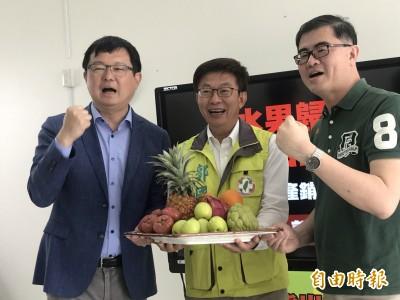 台南立委補選狂打農業經濟牌 郭國文:訂單要拚永續