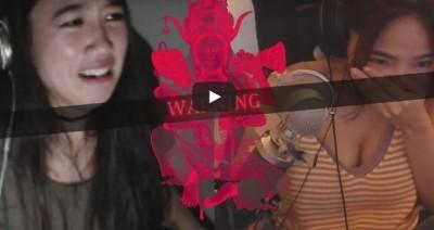 台灣遊戲《還願》嚇破膽!韓女嚇哭、硬漢老外爆粗口