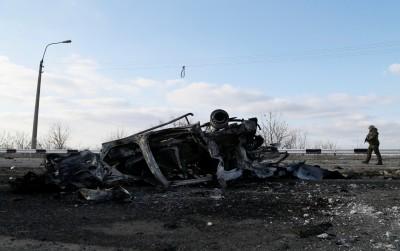搭巴士竟被地雷炸飛 烏克蘭平民2死1傷