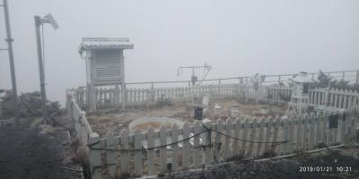 玉山12:10飄雨夾雪 氣象局:傍晚還有一波降雪機會