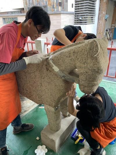 清代石馬「微整形」 這樣做恢復古樸之美…