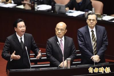 藍委批外交部對中國「沒風度」 吳釗燮反嗆:盼委員拿出良心