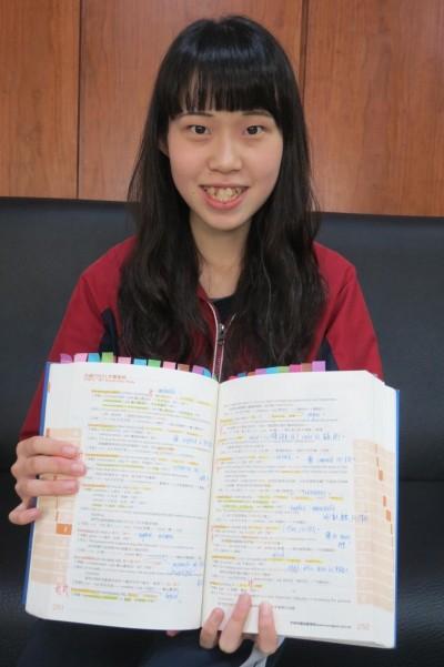 美少女出怪招上台科大…高三就考過英檢高級