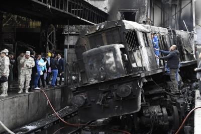 更新!埃及開羅火車出軌爆炸 傷亡人數上升至25死50傷