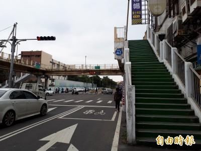 新竹市民注意! 2座人行陸橋3/12起試辦封橋1個月