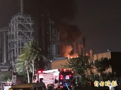 林園台石化爆炸火勢撲滅 釀2重傷2輕傷