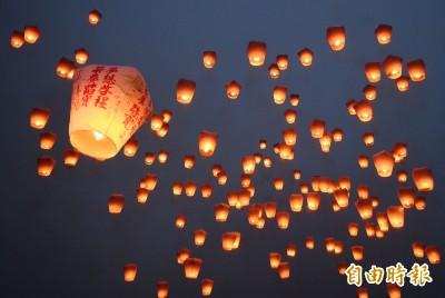 清出326公斤垃圾 外國人籲:台灣人別再放天燈了