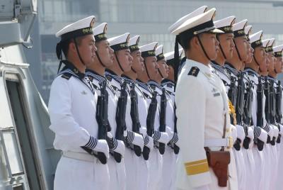 中國海軍建軍70周年活動 日本海上自衛隊考慮參加
