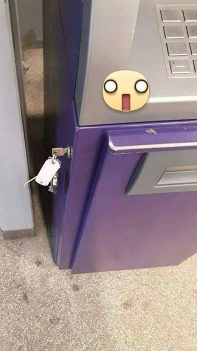 誠實ATM?領錢驚見一把鑰匙 他天人交戰問:該開嗎?