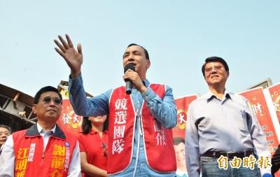 為謝龍介助選 朱立倫:全力以赴爭取黨內總統初選