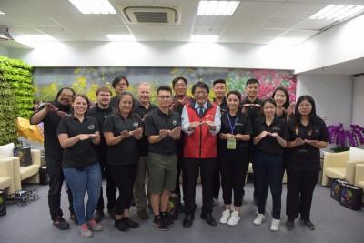 台灣燈會最大亮點  intel無人機表演團隊首度亮相