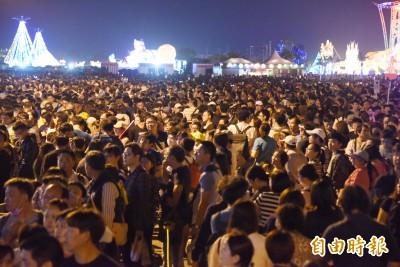 再創新高!台灣燈會今天入場人數飆破182萬