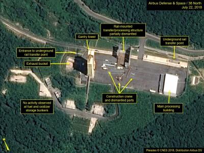 南韓國情院:北韓東倉里飛彈發射場 似有復工跡象