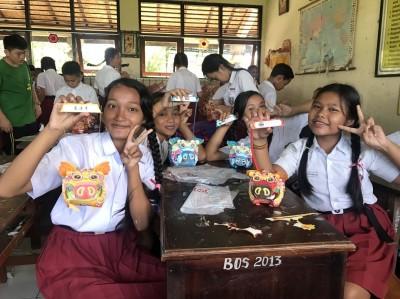驕傲到峇里島!屏東學童帶小提燈外交 大受歡迎