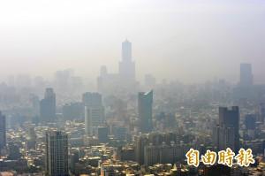 全球城市空污排名 高雄列台灣最糟
