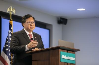 訪美獲禮遇 鄭文燦:肯定台灣維護民主價值的努力