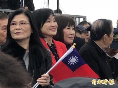 王金平宣布參選 一半藍委到場站台力挺