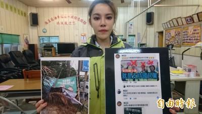台南市立委補選戰況激烈 脫黨參選的陳筱諭哭了