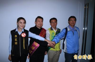 台南立委補選政見會 郭國文籲:別被一時謠言影響