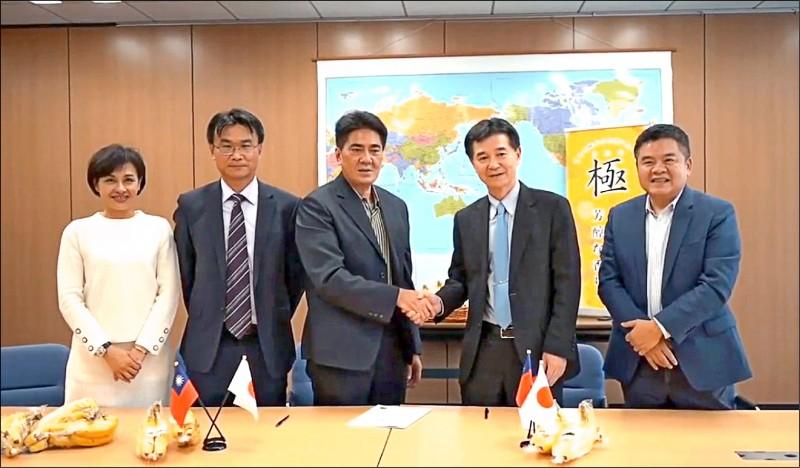 拚外銷!農委會組台灣隊在日參展簽近5億訂單