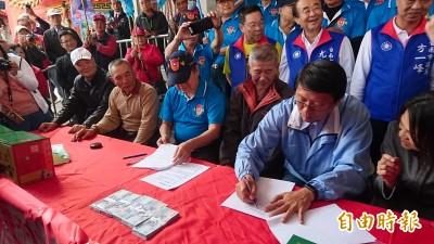 謝龍介找通路商簽約賣麻豆文旦 聽到紅色訂單變臉