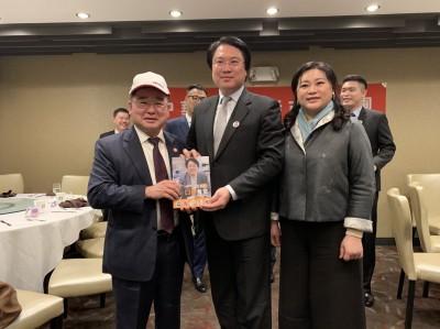 林右昌訪美 提新路線新主張:成為全世界華人的民進黨