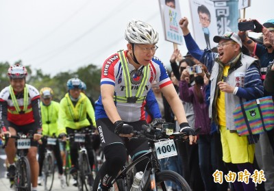 為何想騎一日北高?柯文哲:表揚我們台灣人奮發向上