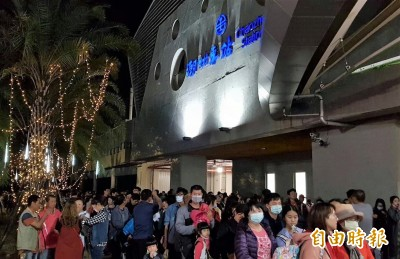 台灣燈會期間 台鐵潮州站日運量近2萬人