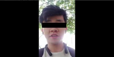 獨家》批習近平「稱帝」 中國學生在台灣直播:我反對