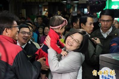 立委補選倒數 蔡英文:台南人不欠民進黨