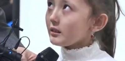 中國抓她全家關集中營 新疆小女孩勇敢受訪傷心落淚...