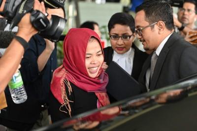 大逆轉!馬國撤銷印尼女暗殺金正男指控 當庭釋放