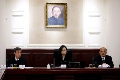 反制「一國兩制台灣方案」統戰滲透 蔡英文立7條指導綱領