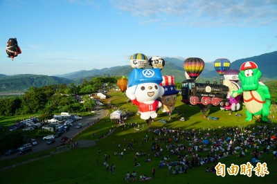 台東熱氣球嘉年華6月29日開幕 活動維持45天