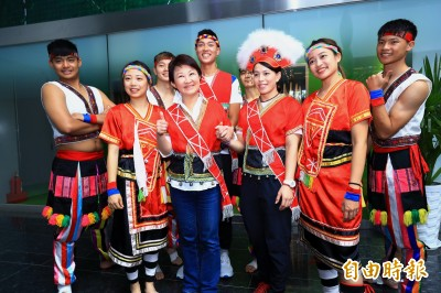 全國原住民族運動會23日台中登場 盧秀燕宣布當週為「原民週」