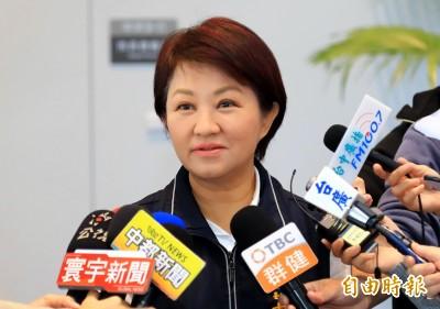 盧秀燕嗆:蔡總統不解決台中空污 未必配合交管