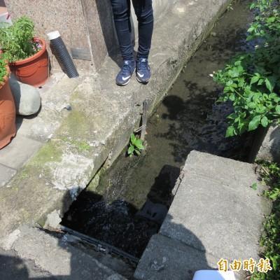 烏日中華路溝渠逢雨必淹20年 住戶:市府快解決