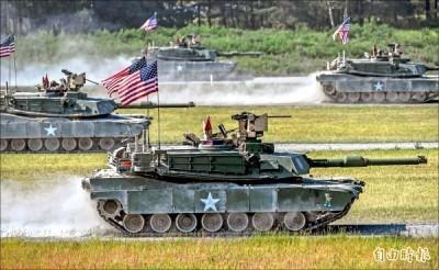 M1A2戰車真的要來了? 他透露美國曾質疑台軍購邏輯
