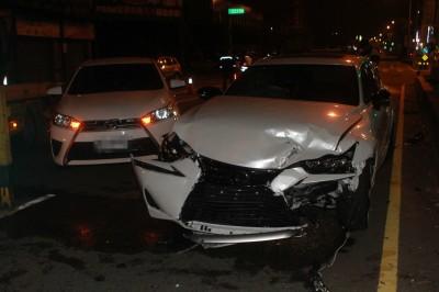186萬元名車當20歲生日禮物 富少酒駕撞車