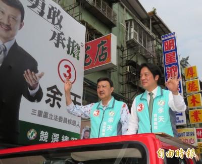 賴清德:用選票向國際表達台灣不接受一國兩制