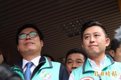 「鮮肉市長」北上輔選 林智堅:余天是正港台灣男子漢