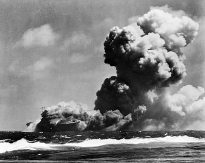 又1艘二戰大型沈船被發現 美航母「胡蜂號」找到了!
