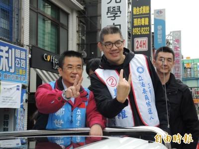 選前最後衝刺 連勝文李彥秀陪鄭世維車隊掃街