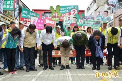 「這一戰全台灣都在看」 陳菊、賴清德聯手為郭國文造勢