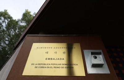 馬德里警封鎖北韓使館 發現內有大量槍械武器