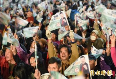 余天造勢晚會湧入逾萬人 卓榮泰:三重要選的不是一日韓流