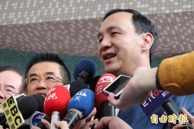 凌友詩預測10年內兩岸統一  朱立倫:屬個人言論自由
