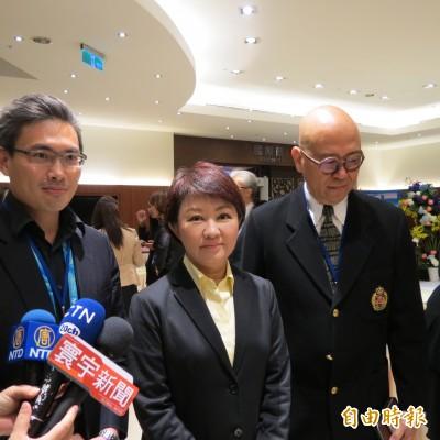 盧秀燕:立委補選結果對「潛在總統候選人」有鼓勵作用