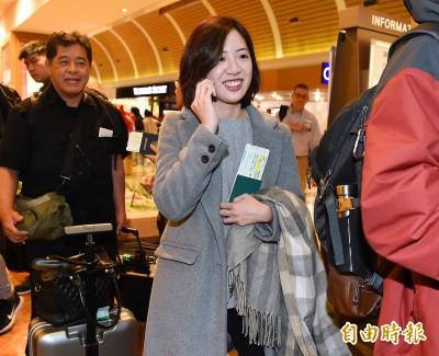 柯文哲出訪 「學姐」黃瀞瑩隨行第一次到美國