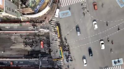 高市大順陸橋開拆周邊大塞 交警疏導還動用空拍